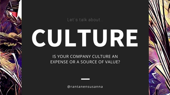 Spot the difference between a cool culture and a strategic culture